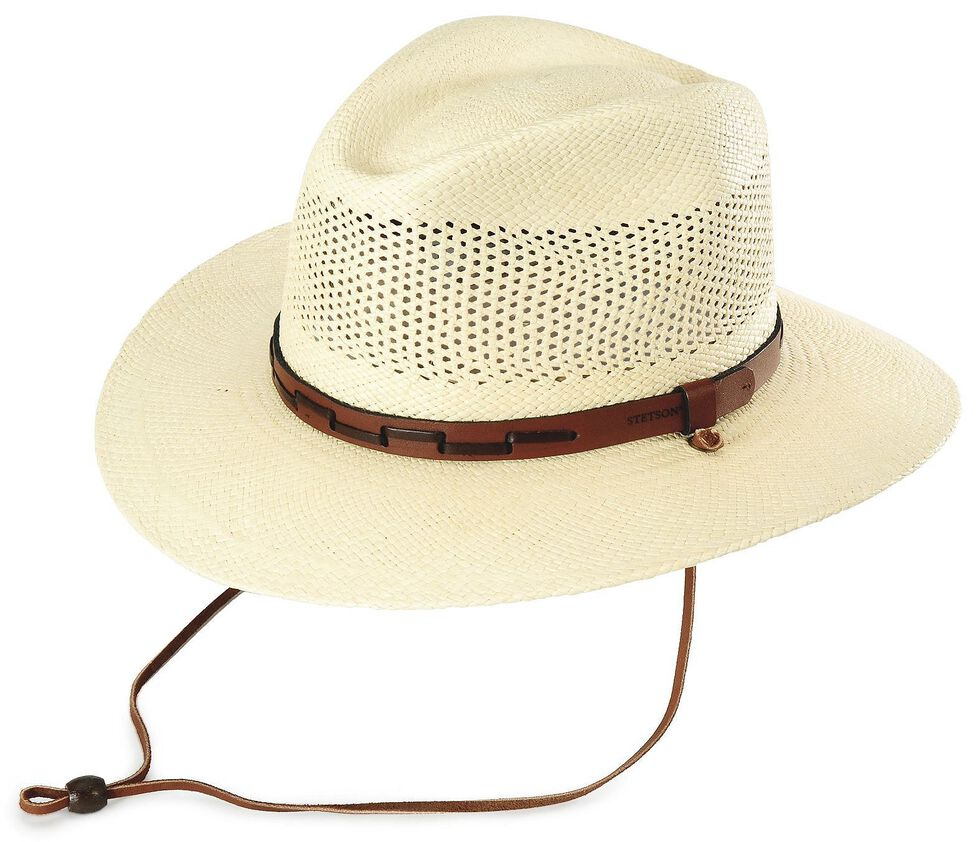 079e135e9afdb Stetson Airway UV Protection Straw Hat