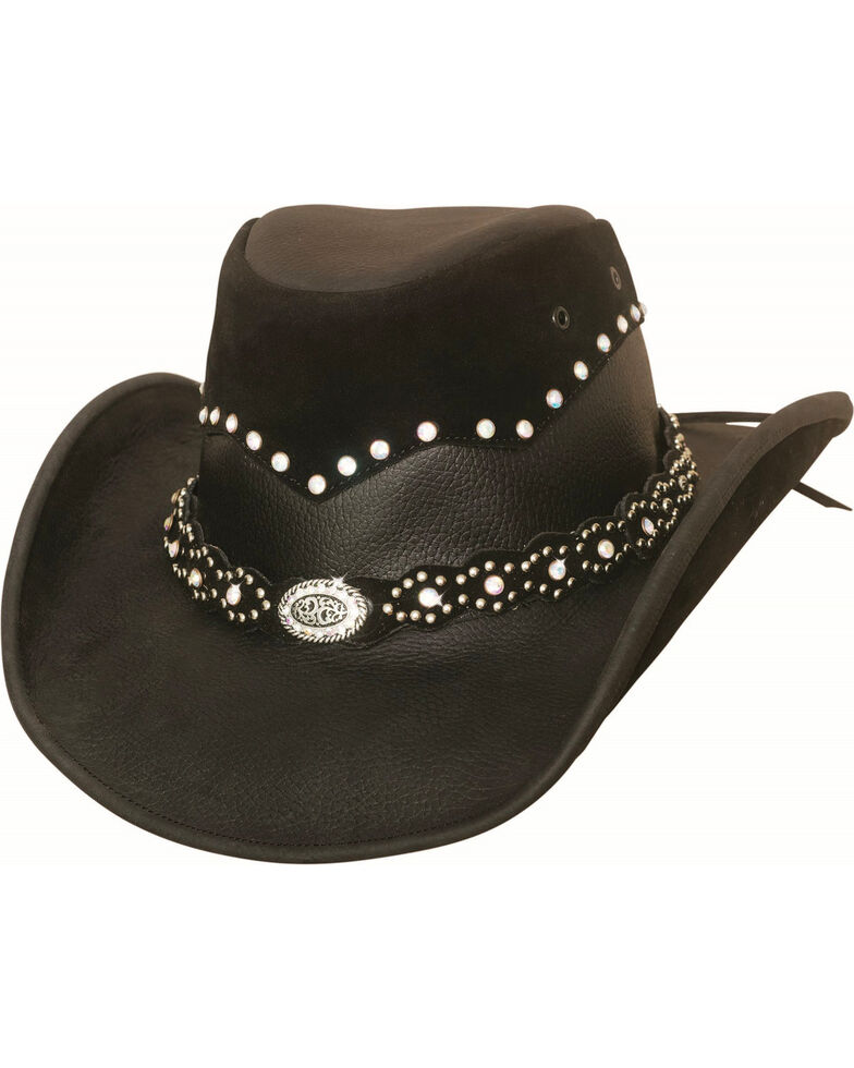 0777e579b5bc9 Bullhide Women s Montecarlo Back in Black Cowgirl Hat
